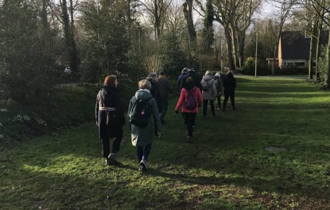 wandelgroep klaar mee loop mee vanuit de alkenhorst alkmaar
